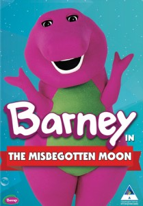 Barney: The Misbegotten Moon + The Magic Lamp DVD - SHTD-245
