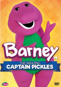 Barney: Amazing Captain Pickles + A Game For Everyone DVD - SHTD-237