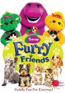 Barney: Furry Friends DVD - SHTD-201