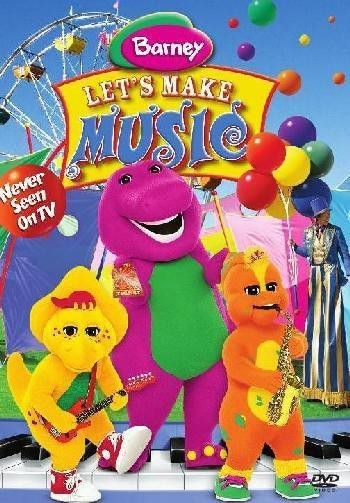 Barney: Let's Make Music DVD - SHTD-194