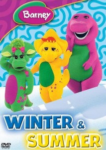 Barney: Winter And Summer DVD - SHTD-169