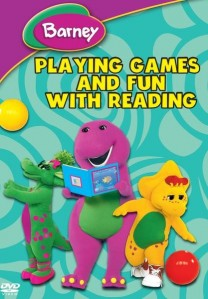 Barney: Playing Games & Fun With Reading DVD - SHTD-174