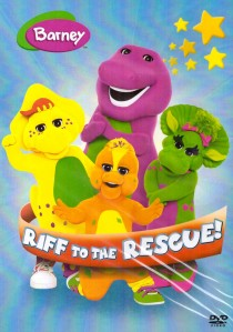 Barney: Riff To The Rescue DVD - SHTD-185
