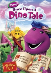 Barney: Once Upon A Dino Tale DVD - SHTD-209
