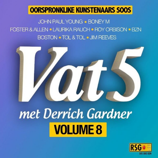 Vat 5 Volume 8 CD - DGR1995