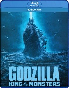 Godzilla: King of the Monsters 3D Blu-Ray - Y35114 BDW