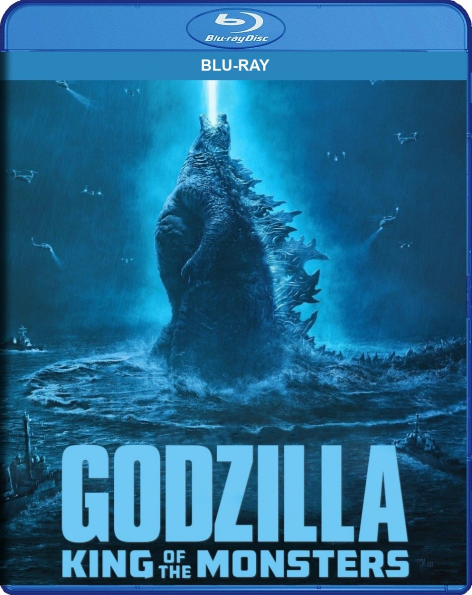 Godzilla: King of the Monsters Blu-Ray - Y35095 BDW