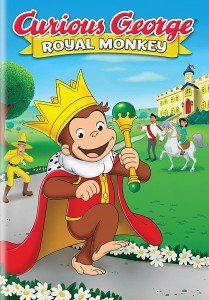 Curious George: Royal Monkey DVD - 575329 DVDU