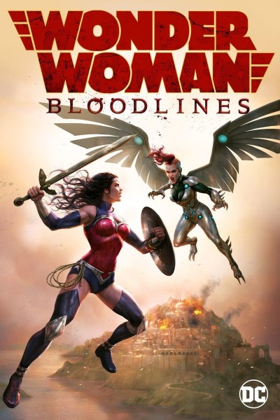 Wonder Woman: Bloodlines DVD - Y35102 DVDW