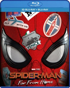Spider-Man: Far from Home 3D Blu-Ray+Blu-Ray - 10230053