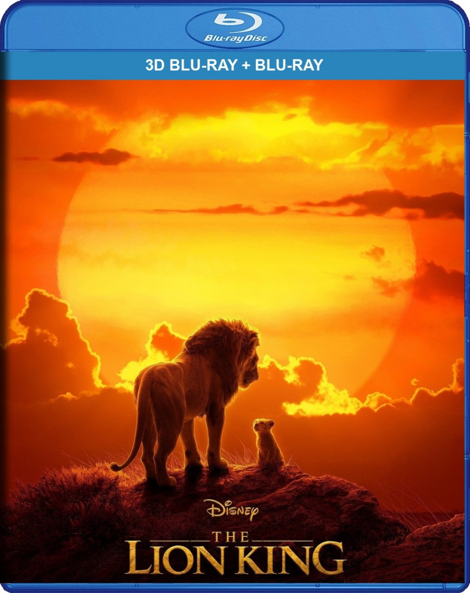 The Lion King 3D Blu-Ray+Blu-Ray - 10230062
