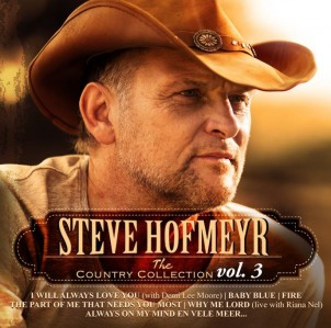 Steve Hofmeyr - The Country Collection Vol.3 CD - CDJUKE 234