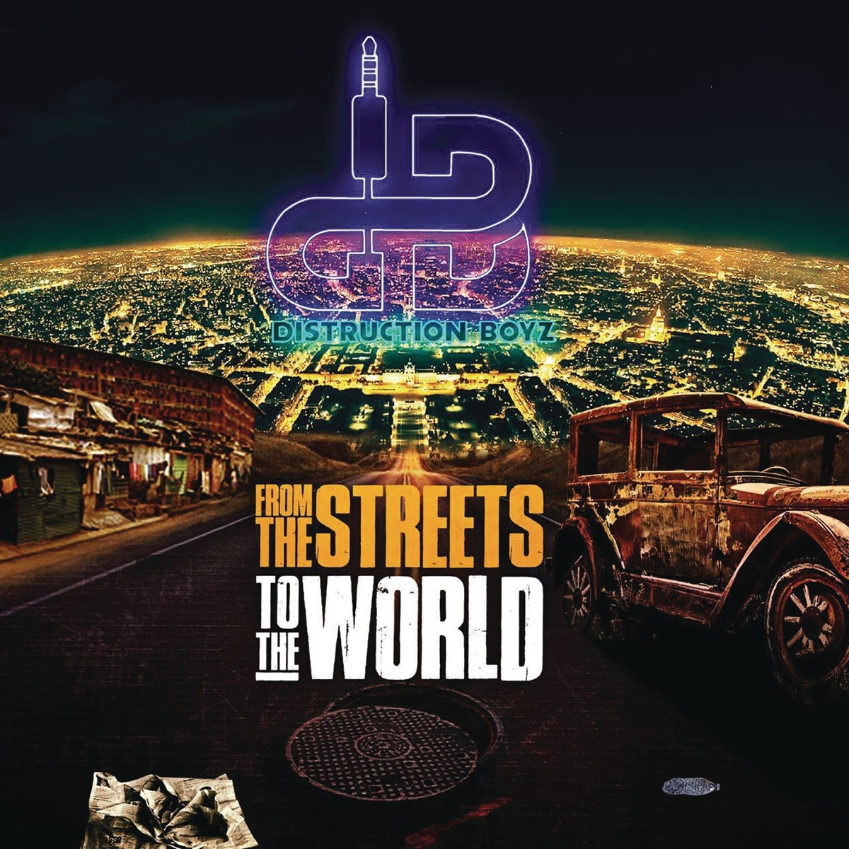 Distruction Boyz - From the Streets to the World CD - CDCOL8343
