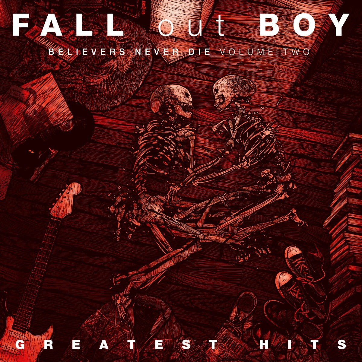 Fall Out Boy - Believers Never Die Volume Two - Greatest Hits CD - 060250836323