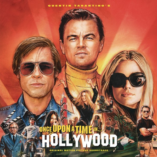 Quentin Tarantino's Once Upon a Time in Hollywood (Original Motion Picture Soundtrack) (Translucent Orange Vinyl) VINYL - 19075981961