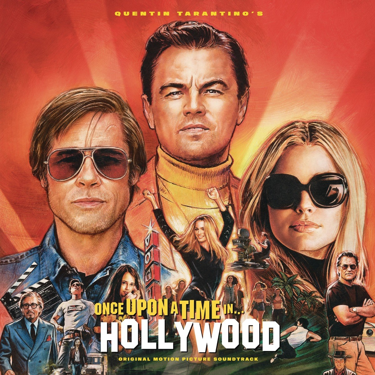 Quentin Tarantino's Once Upon a Time in Hollywood (Original Motion Picture Soundtrack) VINYL - 19075981971