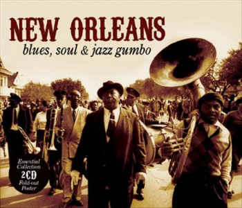 New Orleans Blues, Soul & Jazz Gumbo CD - METRSL 033