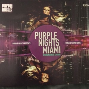 Purple Nights Miami CD - MBB 9991