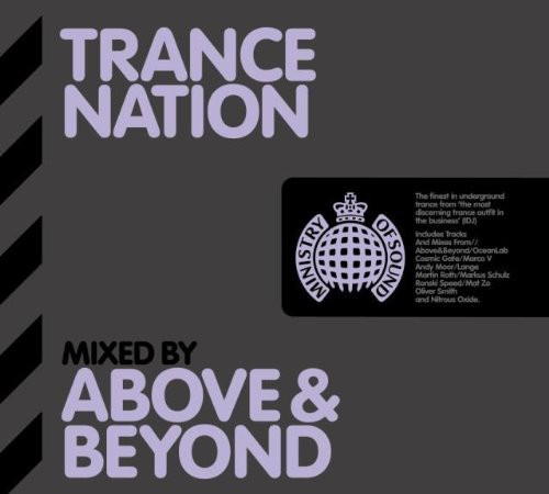 Ministry Of Sound: Trance Nation - Mixed By Above & Beyond CD - MOSCD197