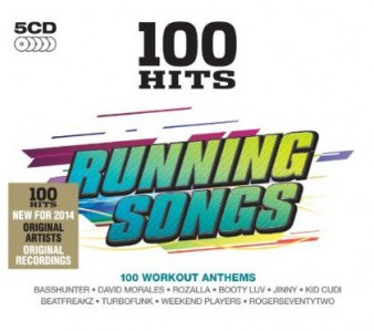100 Hits Running Songs CD - DMG 100 122