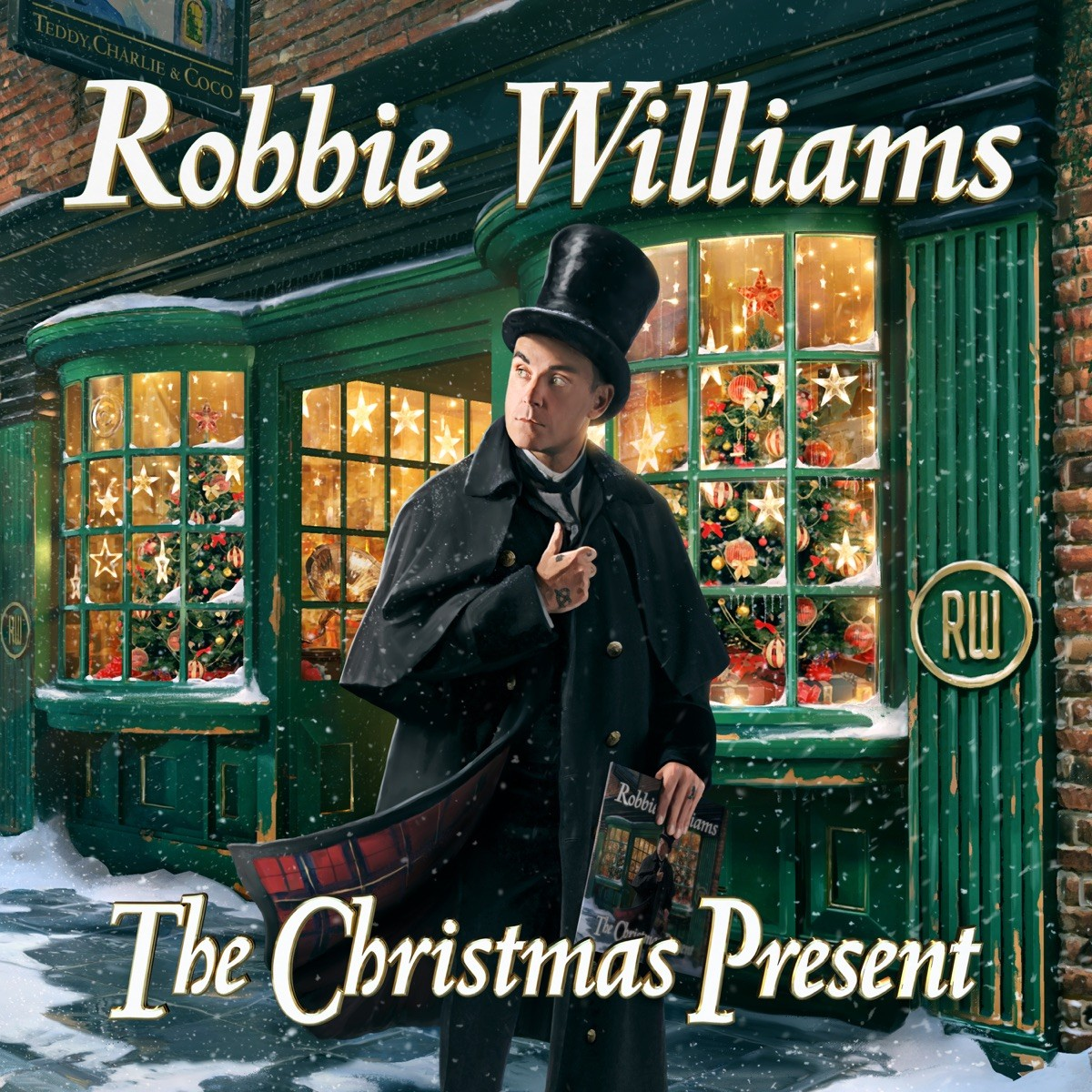 Robbie Williams - The Christmas Present CD - 19075996712
