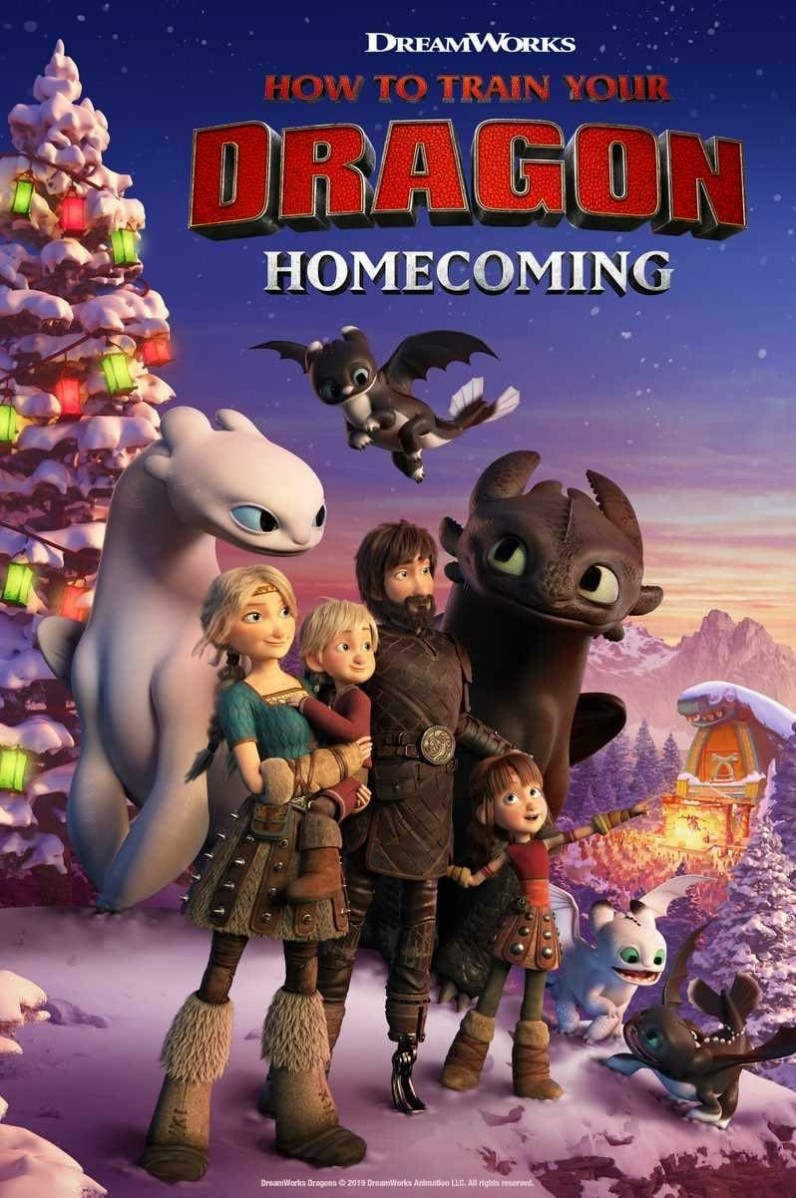 How to Train Your Dragon: Homecoming DVD - 735749 DVDU