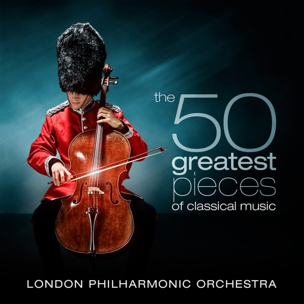 London Philharmonic Orchestra & David Parry - The 50 Greatest Pieces Of Classical; David Parry CD - 9029546822