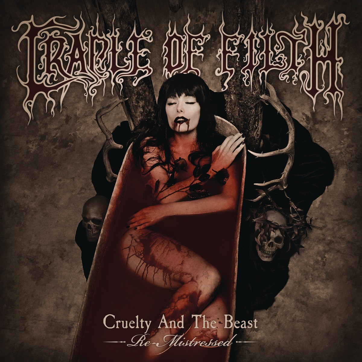 Cradle Of Filth - Cruelty and the Beast (Re-Mistressed) VINYL - 19075880881