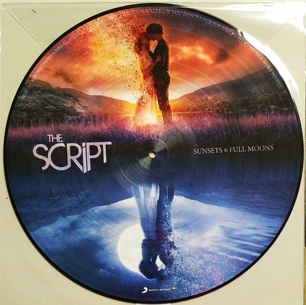 The Script - Sunsets & Full Moons (Picture Disc) VINYL - 19075995691