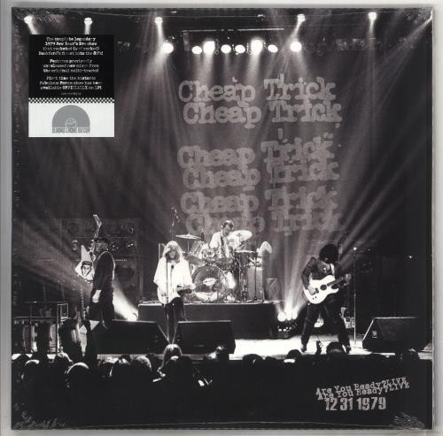 Cheap Trick - Are You Ready? Live 12/31/1979 VINYL - 19075978311