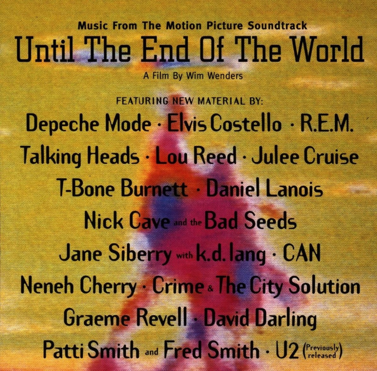 Until the End of the World (Music from the Motion Picture Soundtrack) VINYL - 9362490386