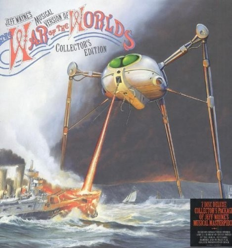 Jeff Wayne - The War Of The Worlds (Collectors Edition) CD+DVD+Book - 960003