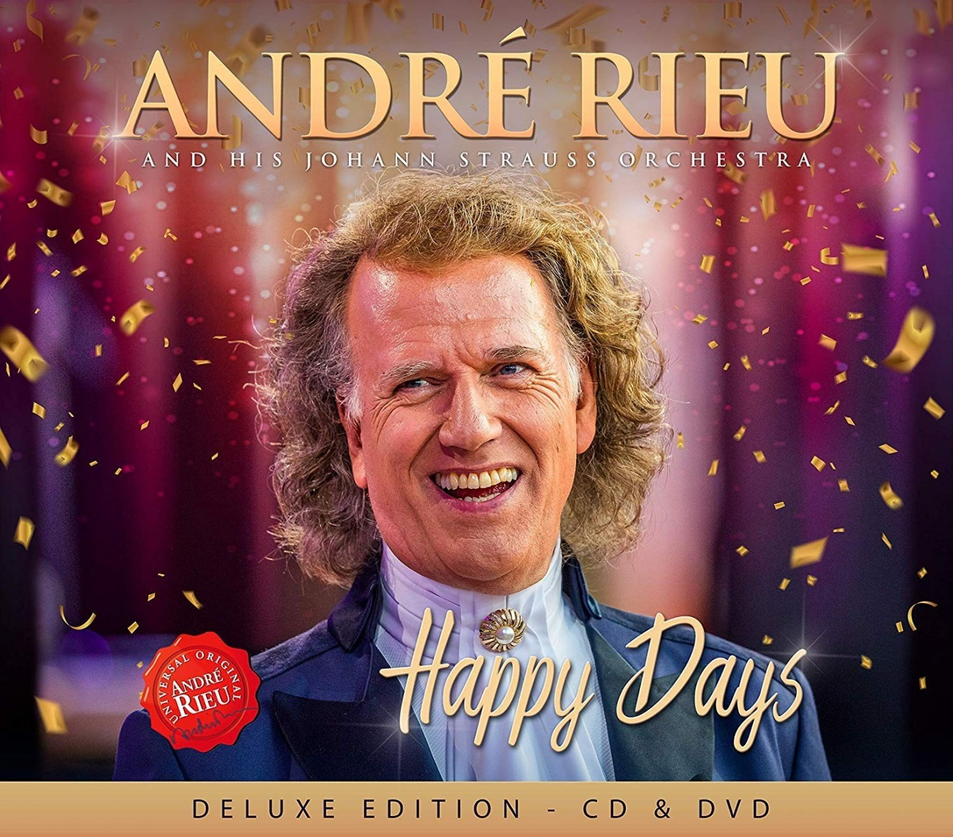 Andre Rieu - Happy Days (Deluxe Edition) CD+DVD - 744475487980