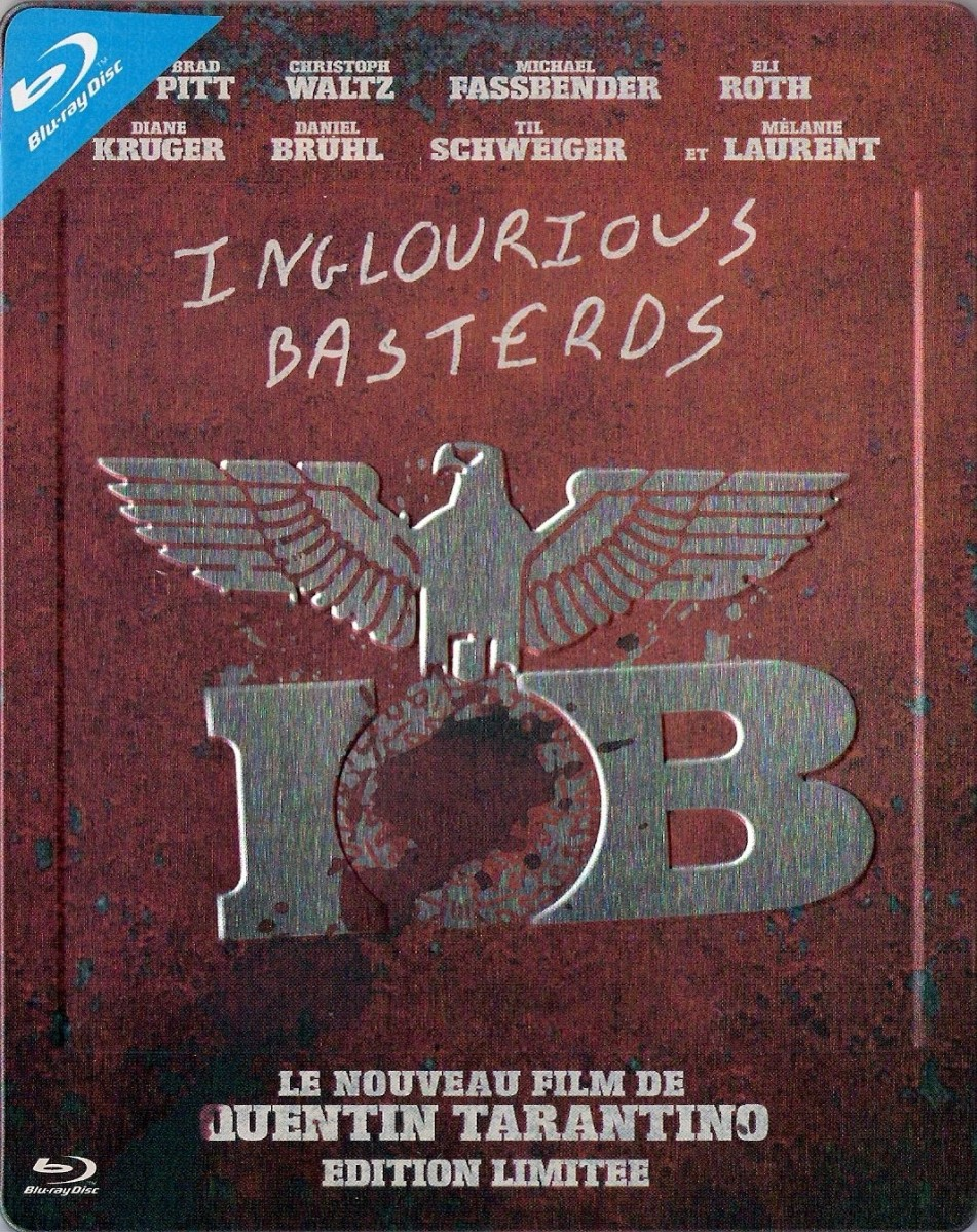 Inglourious Basterds (Steelbook) Blu-Ray - 8273426