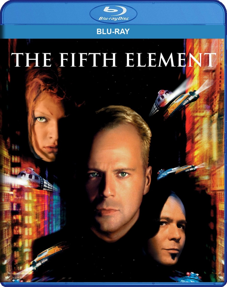 The Fifth Element Blu-Ray - 9322225082946