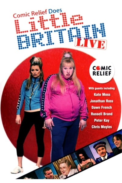 Comic Relief Does Little Britain Live DVD - CRDLBL07