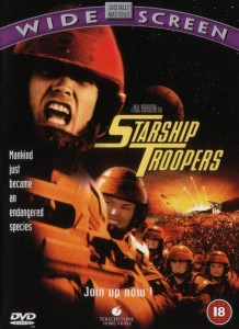 Starship Troopers DVD - Z2 34554