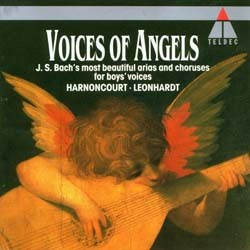 Bach - Voices Of Angels;Harnoncourt CD - 4509937052