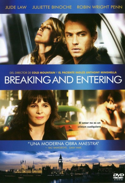 Breaking and Entering DVD - A4608DVDD