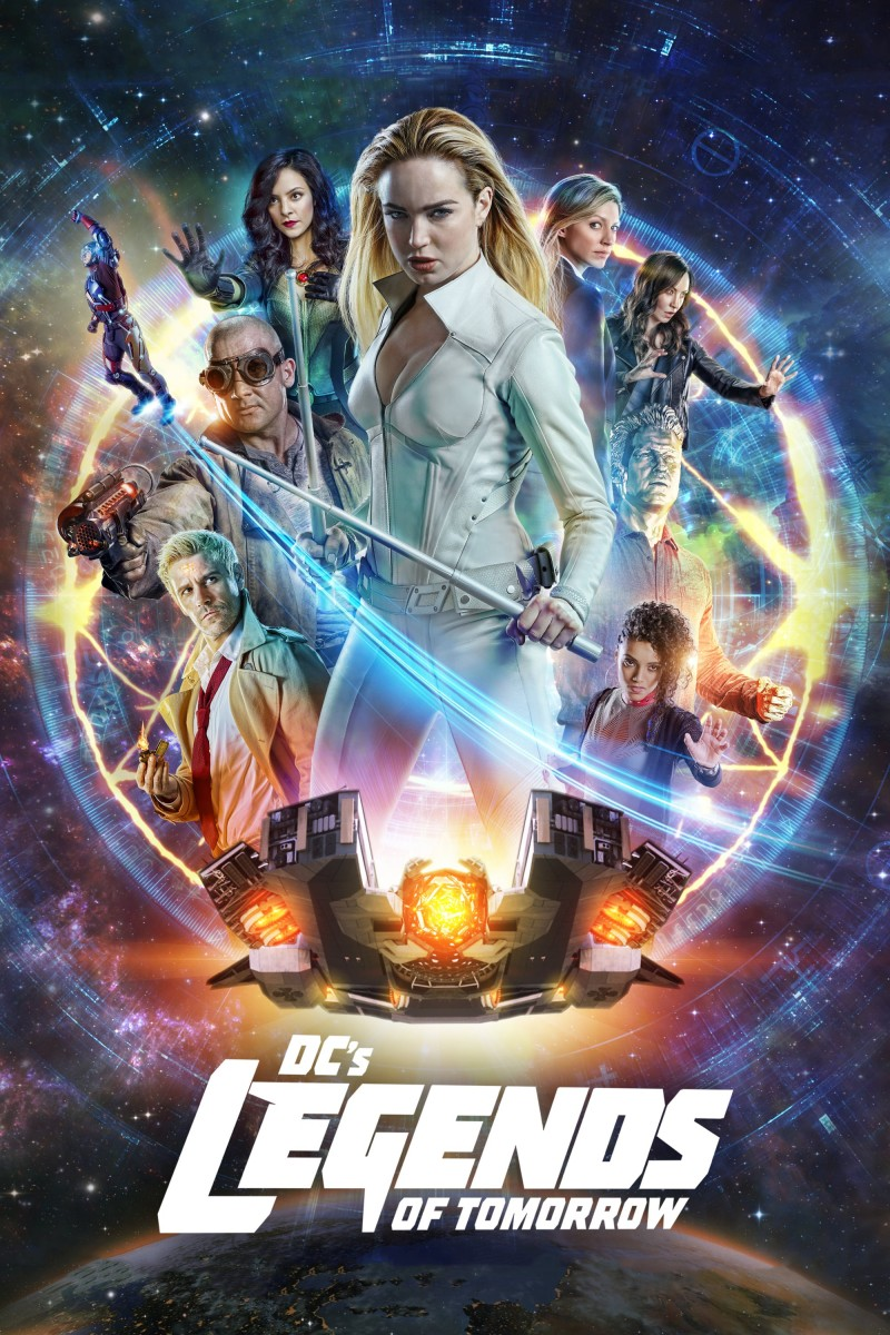 DC's Legends of Tomorrow: Season 4 DVD - Y35308 DVDW
