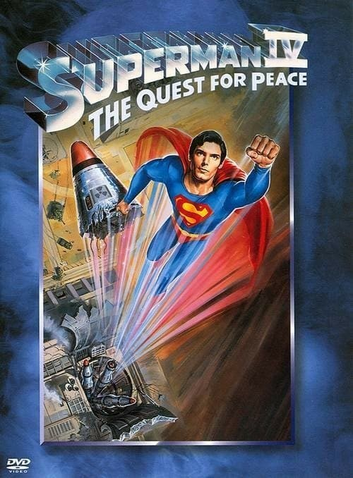 Superman IV: The Quest for Peace DVD - 11757 DVDW
