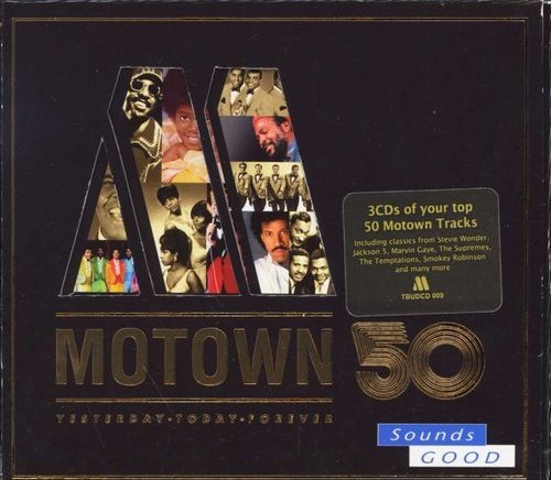 Motown 50 - Yesterday, Today, Forever CD - TBUDCD999