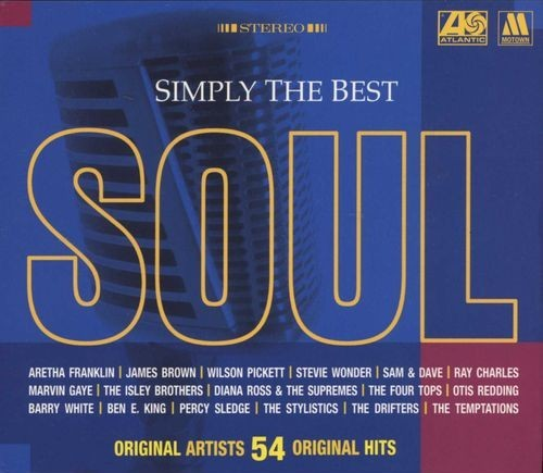 Simply The Best - Soul CD - 6001208005730