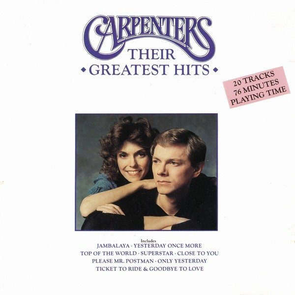 Carpenters - Their Greatest Hits CD - 397048-2