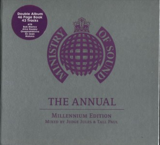 Judge Jules & Tall Paul - Ministry Of Sound: The Annual - Millenium Edition CD - ANNCD99