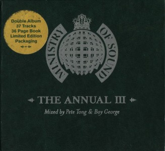 Pete Tong & Boy George - Ministry Of Sound: The Annual III CD - ANNCD97