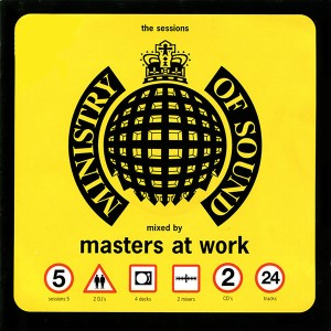 Masters At Work - Ministry Of Sound Sessions 5 CD - MINCD5