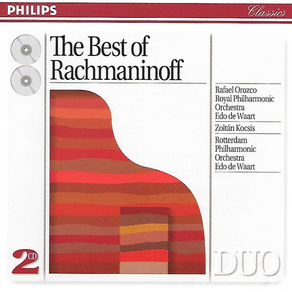 The Royal Philharmonic Orchestra - The Best Of Rachmaninoff CD - 438383-2