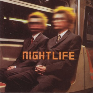 The Pet Shop Boys - NIghtlife CD - CDPCSJ 7208