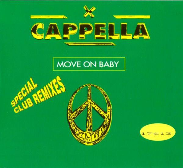 Cappella - Move On Baby CD - ZYX 7198R-8